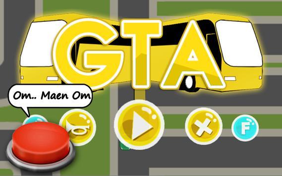 om telolet om versi GTA poster