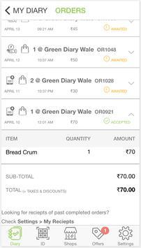 OneGreenDiary apk screenshot