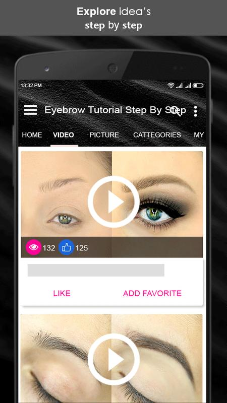 Eyebrow Tutorial Step By Step For Android Apk Download