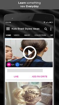 Kids Braid Styles Ideas screenshot 1
