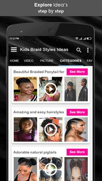 Kids Braid Styles Ideas screenshot 3