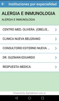 Respuesta Médica screenshot 3