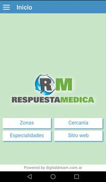 Respuesta Médica poster