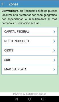 Respuesta Médica screenshot 1