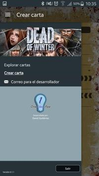 Dead of winter - Encrucijadas poster