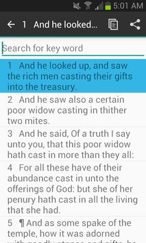 Chapter Bible LUKE 21 apk screenshot