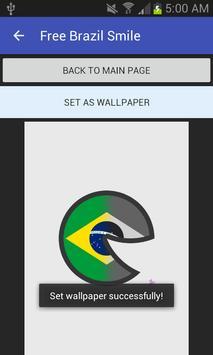 Free Brazil Smile screenshot 1