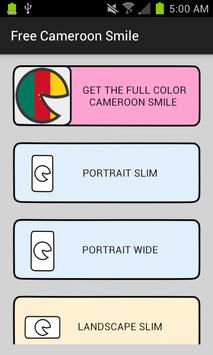 Free Cameroon Smile poster