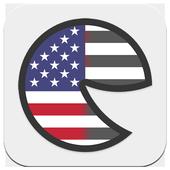 Free USA Smile icon