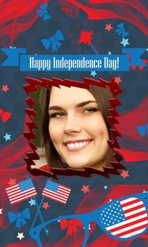 4th July US Independence frame screenshot 1