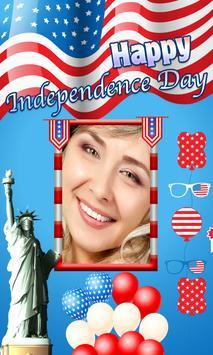 4th July US Independence frame screenshot 2