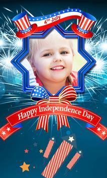 4th July US Independence frame screenshot 8