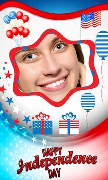 4th July US Independence frame screenshot 9