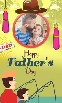 Fathers Day Photo Frames 2018 poster