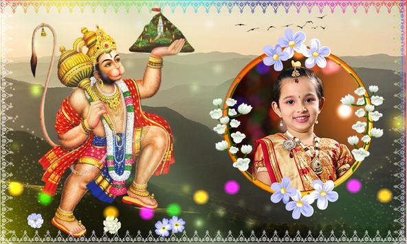 Hanuman Photo Frames poster