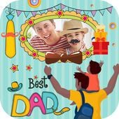 Happy Fathers Day Frames 2018 icon