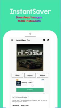 InstantSaver PRO - Instant Save & Repost poster
