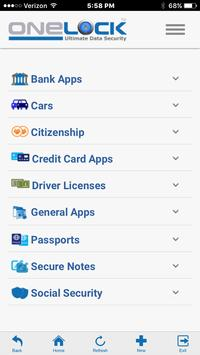 OneLock - Data Security apk screenshot