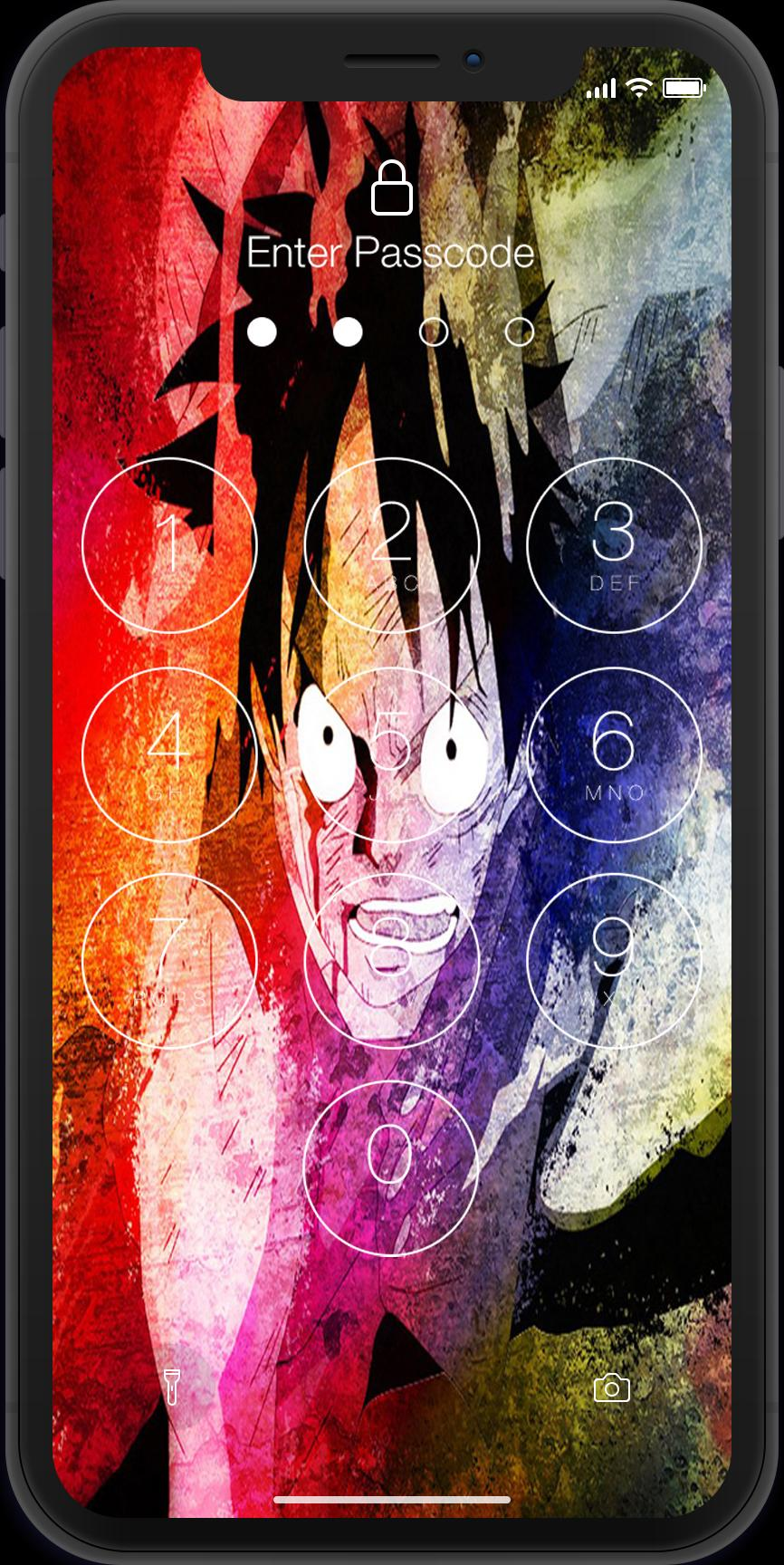Lock Screen For One Piece Luffy 2018 For Android Apk Download