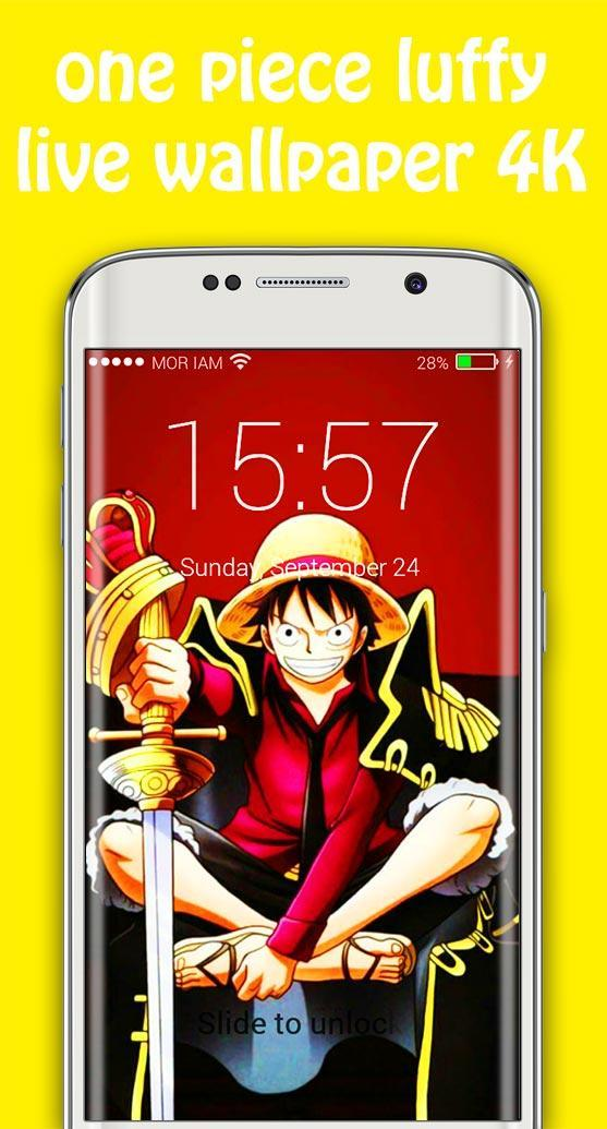 Luffy Live Wallpapers Lock Screen For Anime Free For Android Apk Download