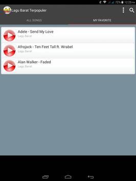 Lagu Barat Terpopuler screenshot 18