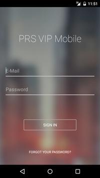 PRS VIP poster
