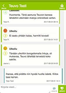 Onerva hoivaviestintä apk screenshot