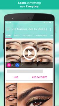 Eye Makeup Step by Step 2018 screenshot 1