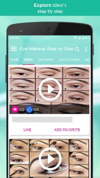 Eye Makeup Step by Step 2018 screenshot 2