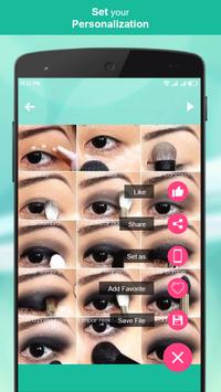 Eye Makeup Step by Step 2018 screenshot 4