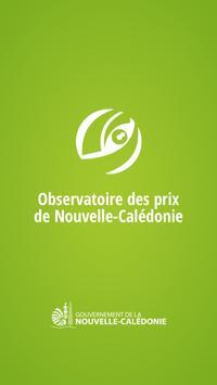 Observatoire des prix NC poster