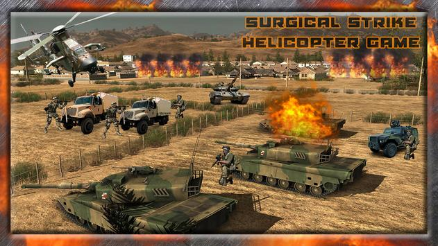 Surgical Strike:HelicopterGame poster