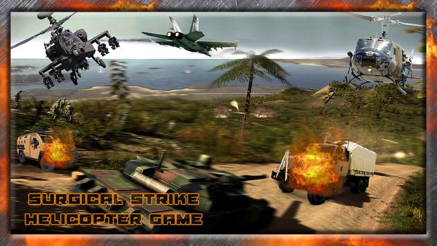 Surgical Strike:HelicopterGame apk screenshot