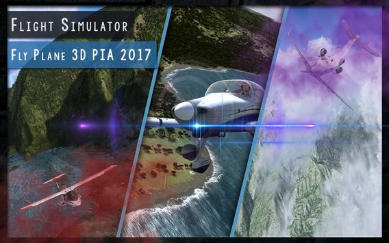 Flight Simulator 3D PIA 2017 poster