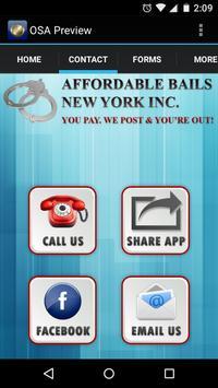 Affordable Bails NY apk screenshot