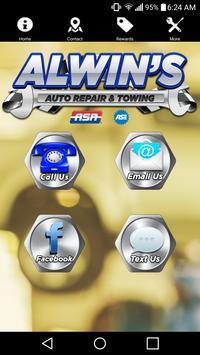 Alwin's Auto Repair apk screenshot