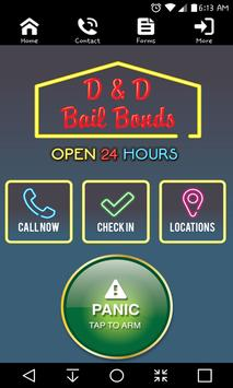 D & D Bail Bonds poster