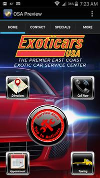 Exoticars USA poster