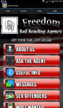 Freedom Bail apk screenshot