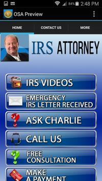 IRS Attorney poster