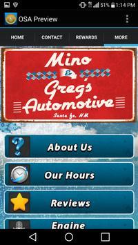 Mino and Greg's Automotive screenshot 3