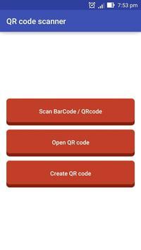 QR Code Scanner & Generator poster