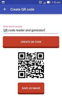 QR Code Scanner & Generator apk screenshot