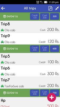 Cab Driver Accountant screenshot 1