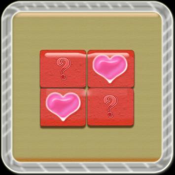 Pairs Love:Tester Memory Kids apk screenshot