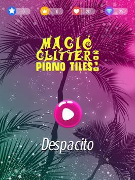 Glitter Piano Tiles Magic 2018 screenshot 2