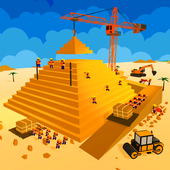 Egypt Pyramid Builder Games icon