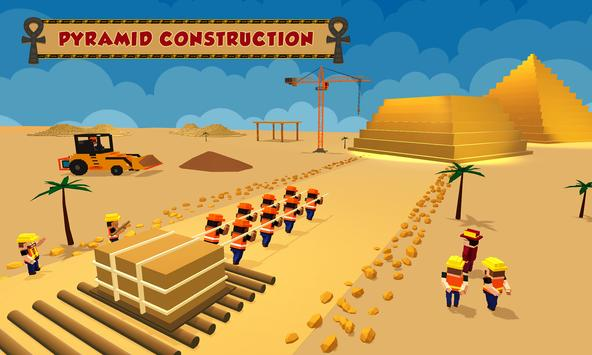 Egypt Pyramid Builder Games poster