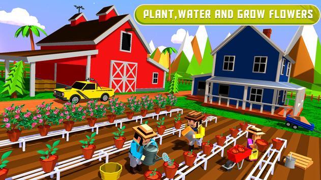 Flower Farming : Garden Building & Decoration screenshot 4