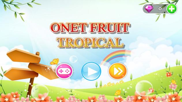 Onet Fruit Tropical poster